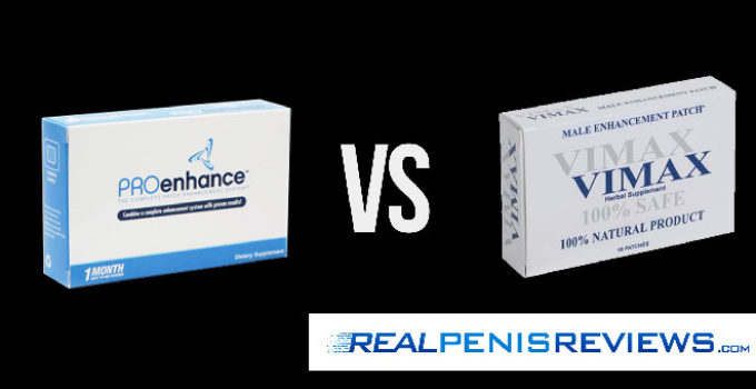 Proenhance VS Vimax Patch